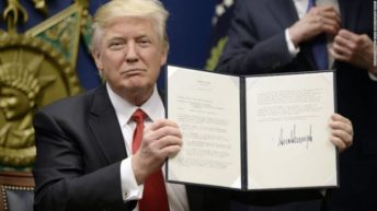 Full text of Trump's executive order banning refugees for 90-120 days
