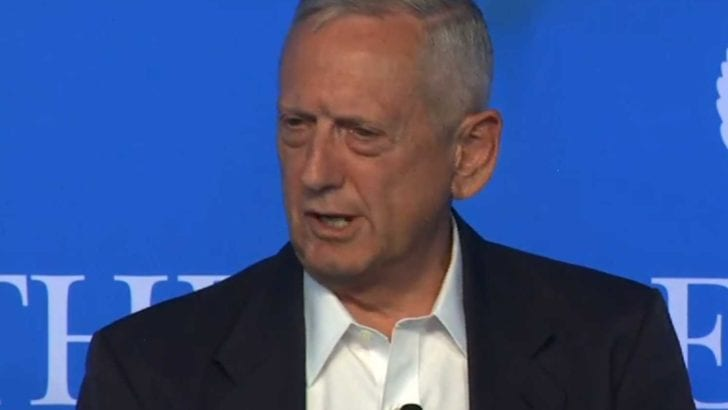 "Trump Pentagon pick Gen. James Mattis accused Israel of heading to ""apartheid"""