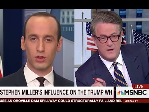 "The Forward: Stephen Miller was ""key player"" behind Trump refugee ban  [VIDEO]"