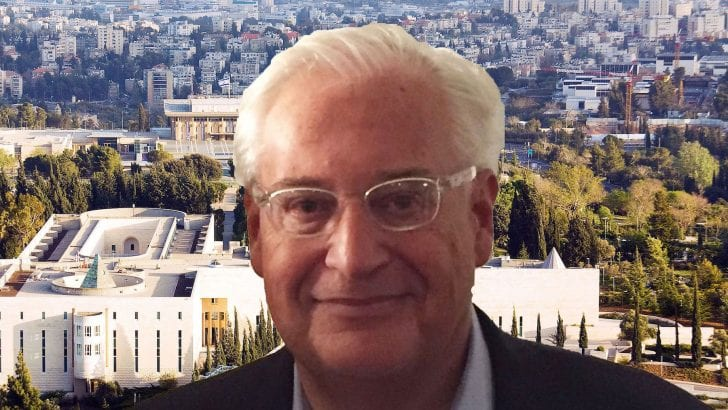 Israel partisans & critics oppose Friedman, Senate hearings begin Thursday, vote split