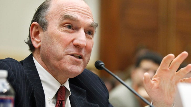 Is Trump bending on Neocons?  Will Elliott Abrams become Deputy Secretary of State?