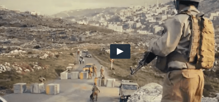 Did a Super Bowl ad feature a West Bank roadblock? [VIDEO]