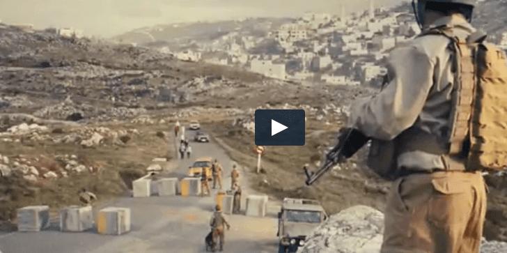 Did a Super Bowl ad feature a West Bank roadblock? [VIDEO]