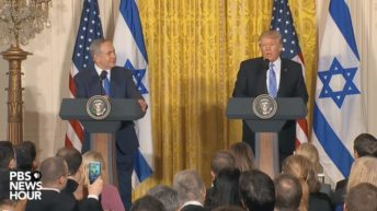 Trump repeats false narrative about Palestinian children