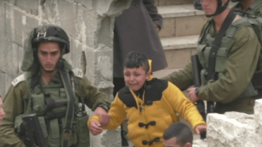 Screenshot from B'Tselem video