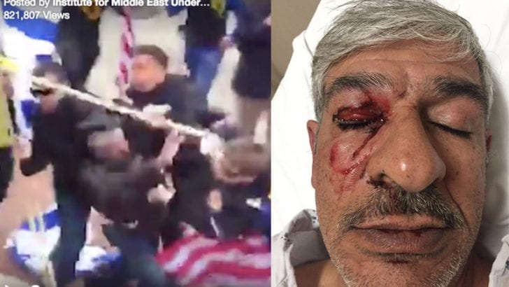Palestinian-American professor brutally attacked by Jewish Defense League members in D.C. [VIDEO]