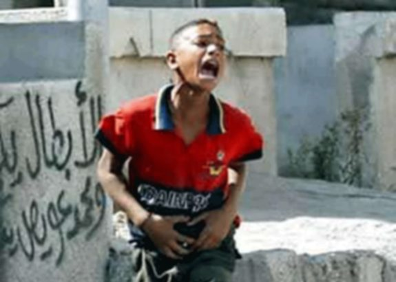 Flashback: AP erased video of Israeli soldier shooting Palestinian boy