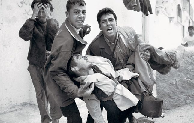 Israeli sniper shot photographer Tom Hurndall in the head 17 years ago
