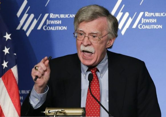 """""""Guardian of Zion"""" award will be given to former US ambassador to UN John Bolton"""