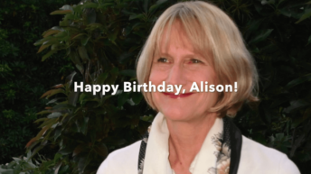Alison Weir turns 70: Keep shining your light to the world!
