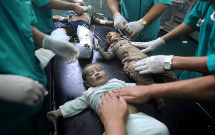 Doctors working to save infants after a military strike inspire the movement of BDS (Boycott, Divestment, and Sanctions.)