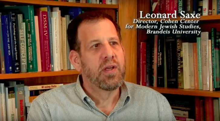 'Vast majority' of Jewish students are connected to Israel, insists Brandeis prof
