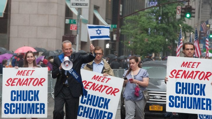 Schumer, 'guardian of Israel,' calls anti-Zionism a form of antisemitism [videos]