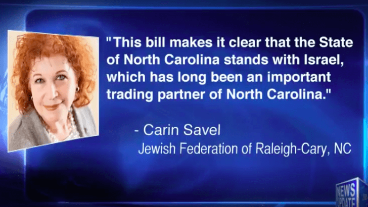 North Carolina 22nd state to pass anti-BDS legislation promoted by Israel lobby groups