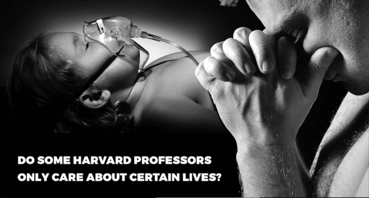 "Harvard Crimson ad asks if anti-BDS Harvard profs ""only care about certain lives"""