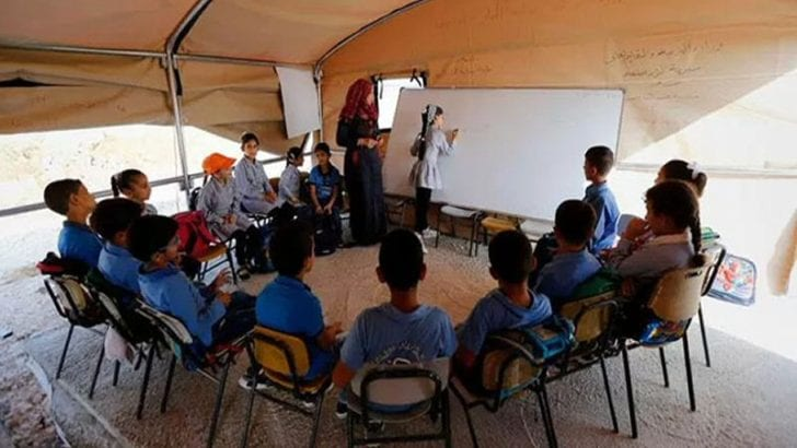 Palestinian Primary Schools Defy Demolition Orders