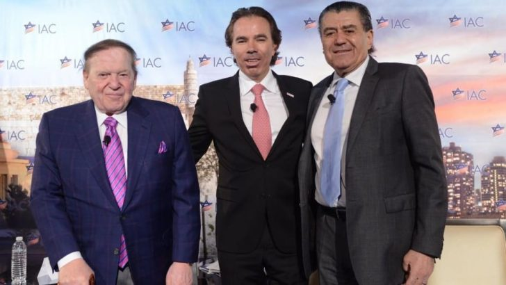 Adelson-Funded IAC and Other Groups May Soon Rival AIPAC for Influence, Power