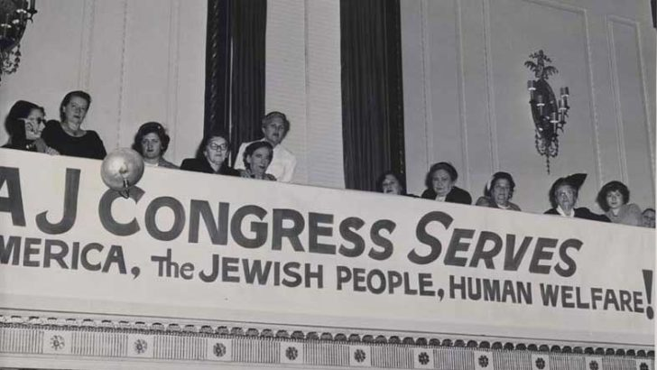 The Intolerable Hypocrisy of the American Jewish Congress