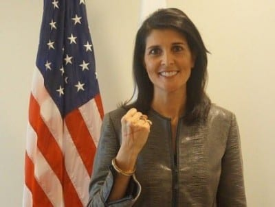 The Unofficial ANNOTATED Version of Nikki Haley's Speech Ahead of UN Jerusalem Vote