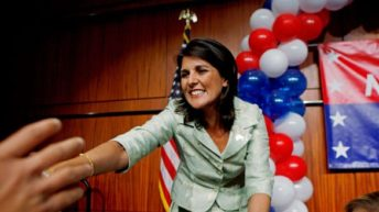 Nikki Haley sets the bar low on her Friends of the US party