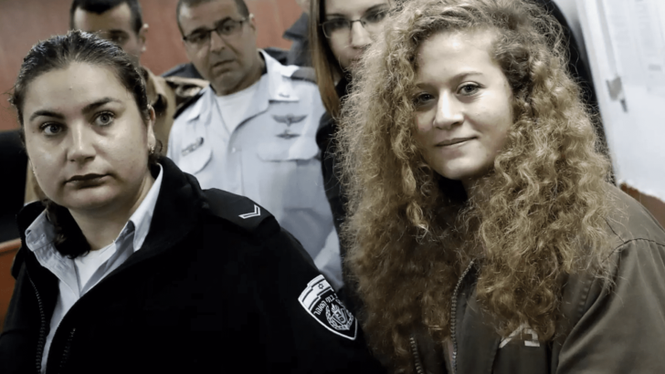 Ahed Tamimi trial begins. The charge: making IDF look weak, Israel look like a bully