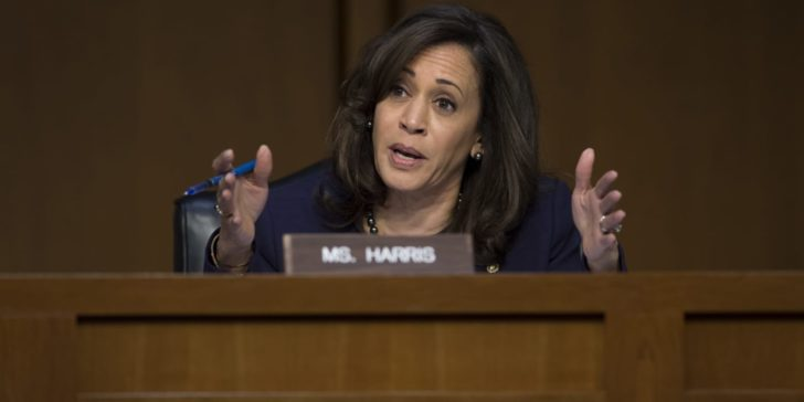 As Dems shift left on Palestine, 2020 contender Kamala Harris goes off-the-record with AIPAC