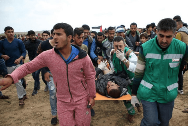 Updated: Israeli Soldiers Kill Ten Palestinians, Injure 1100 In Gaza