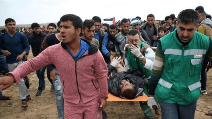 Updated: Israeli Soldiers Kill Ten Palestinians, Injure 1100 In Gaza
