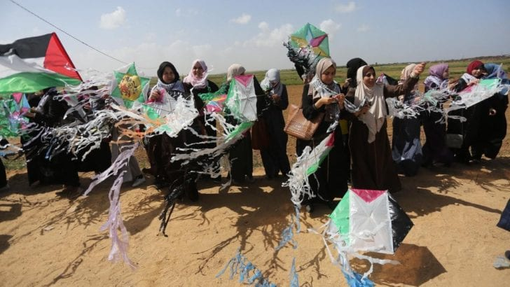 AP's slanted report on Gaza Return March, corrected and annotated