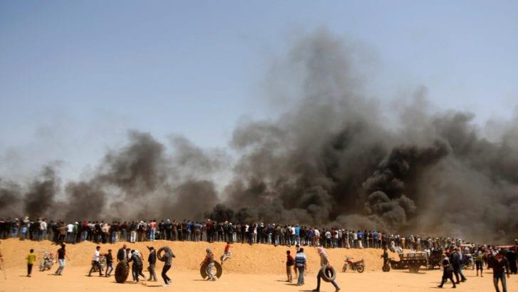 Media's Linguistic Gymnastics Mislead on Gaza Protests