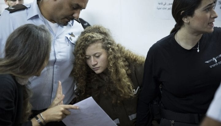 Ahed Tamimi's lawyer accuses interrogators of sexual harassment