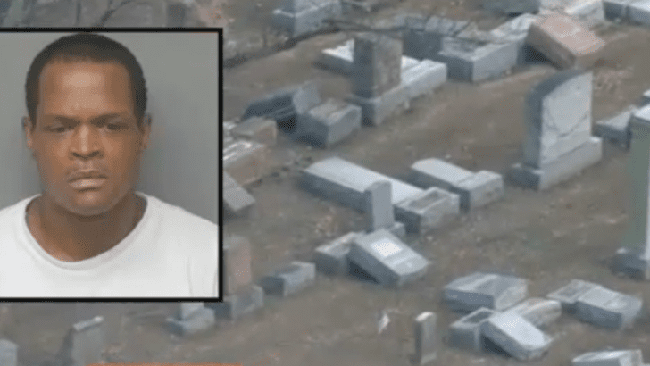 Man who toppled Jewish gravestones says he wasn't motivated by antisemitism