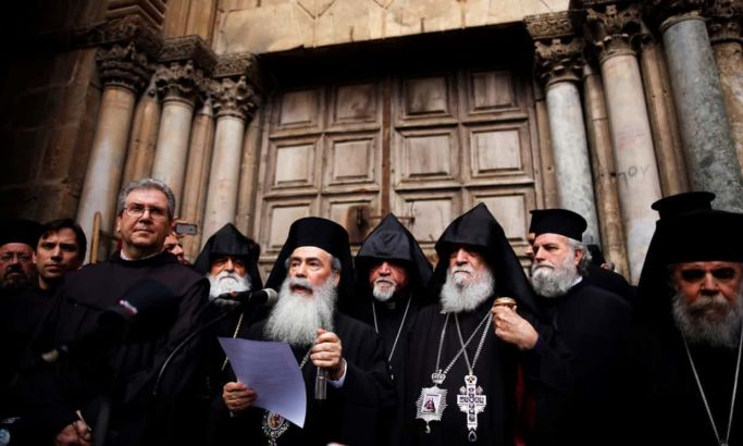 Christians in Jerusalem's Old City 'under threat' from settlers