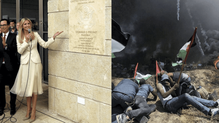 U.S. Embassy opens in Jerusalem amid Palestinian protests