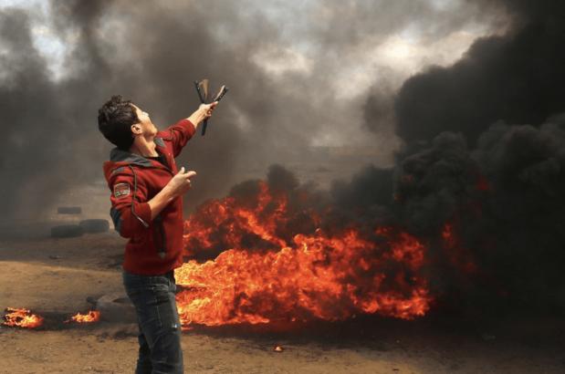 Israelis kill dozens of Palestinians in Gaza protesting U.S. Embassy move to Jerusalem