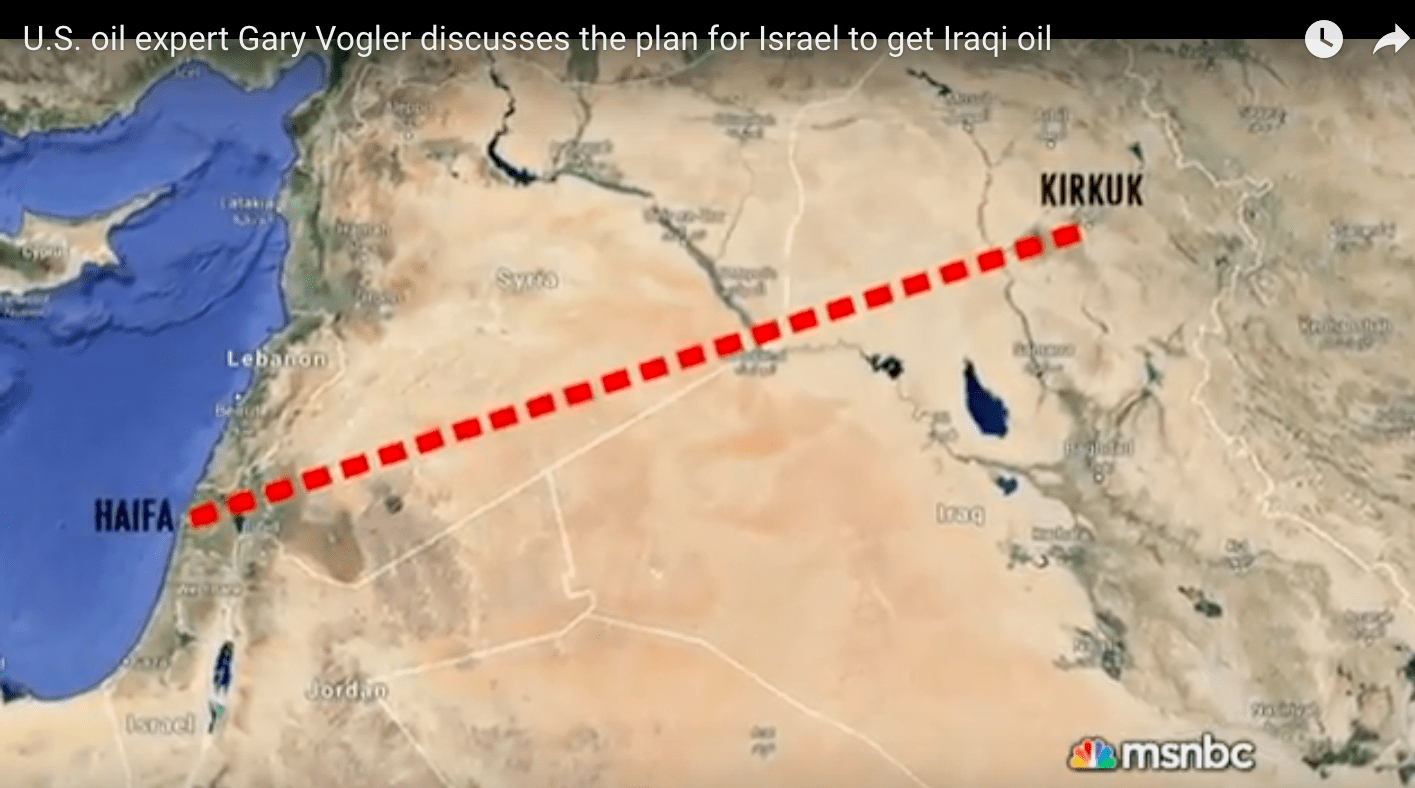 Oil for Israel: The Truth about the Iraq War, 15 Years Later