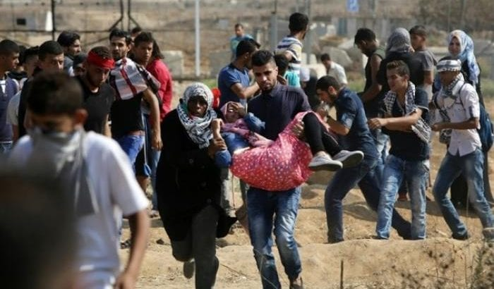 Four Palestinians killed and over 600 injured in Gaza during continuing demonstrations along the fence with Israel