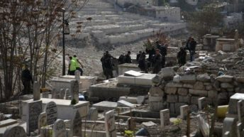 Israel digs up centuries old Palestinian graves in Jerusalem