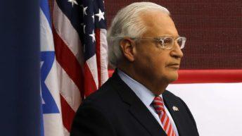 Trump ambassador blocks scrutiny of Israel