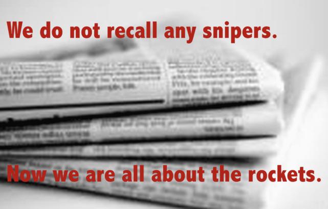 Mainstream media gets it wrong on Gaza AGAIN