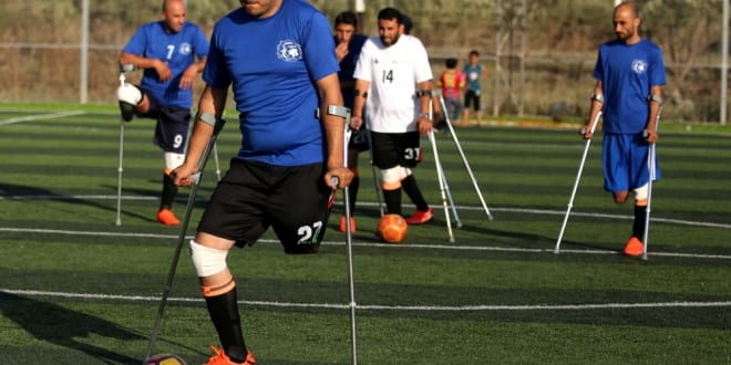 Gaza ِِAmputees Form First Ever Football Team in Hope to Join World Championships