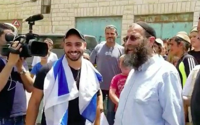 Elor Azaria Receives Hero's Welcome at Scene of Hebron Shooting