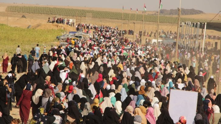 Gaza Women's March – News Roundup