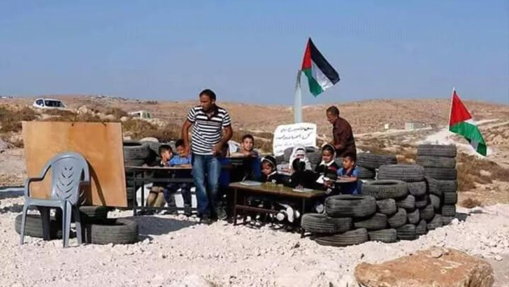 2 stories of the 1st day of school in the Palestinian Territories