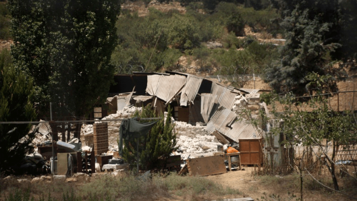 Settlers Demolish Palestinian Homes Built on Church Grounds Despite Court Order