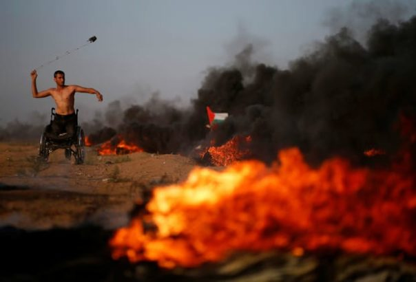 Israeli forces kill 7 Palestinians (including 2 teens & 12 year old), injure 509, in Gaza