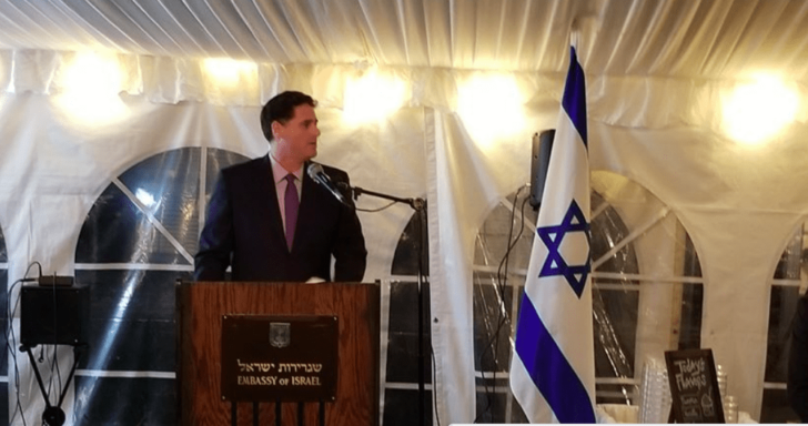 Israeli Ambassador to U.S. speaks to American power brokers at exclusive event