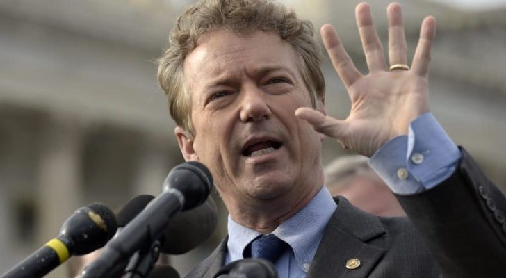In historic move, Sen. Rand Paul places hold on $38 billion to Israel