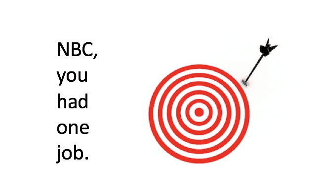 NBC misses truth by a mile