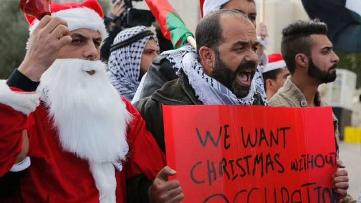 Christmas headlines from the Occupied Palestinian territories